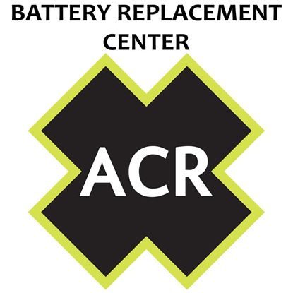 ACR FBRS 2874 Battery Replacement Service - Satellite3 406 and -153;