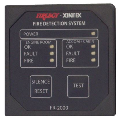 Xintex 2 Zone Fire Detection  and  Alarm Panel