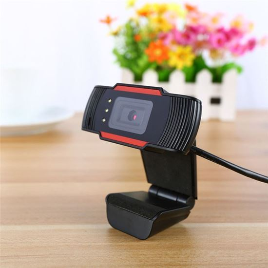 Mic HD Webcam 1080p USB Camera Video Recording Web Camera