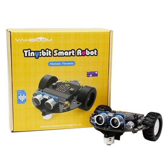 Picture of Yahboom Tiny:bit smart robot car for micro:bit